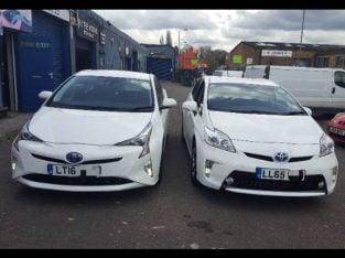 Low deposit Toyota Prius Rent PCO