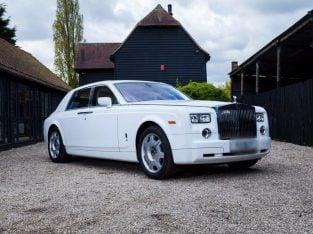 Car Hire London/Essex Rolls Royce Phantom