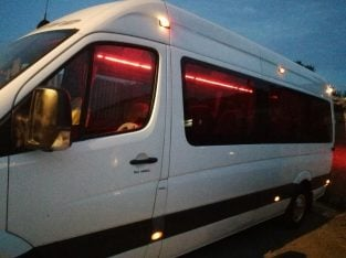 17 Seater Luxury Minibus Hire With Driver