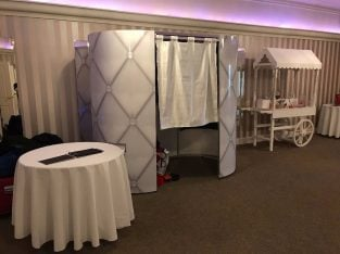 3 hours Photobooth & Candy Cart Hire