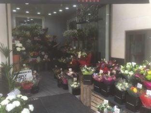 Full time florist