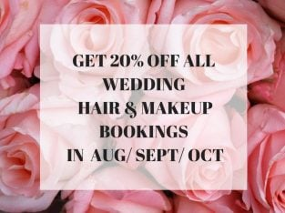 Experienced Wedding Hair & Makeup