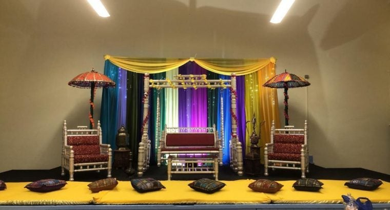 Discounted packages Marquee and Wedding/mehndi Stage Hire