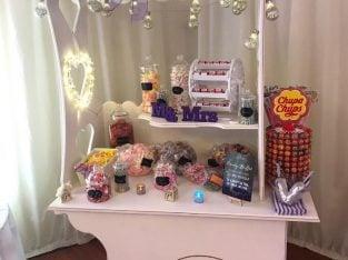 Weddings – Sweet cart to hire