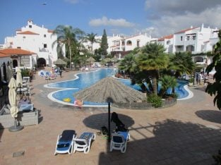 1 Bed apartment overlooking heated pool – Tenerife, Fairways Club, Amerilla Golf