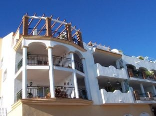Spain Stunning 2 bed penthouse in beautiful Benalmadena Pueblo,Costa Del Sol, Pool with sea views