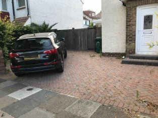 Enough space for two cars Great off road parking