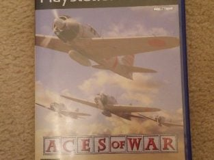 For sale aces of war ps2