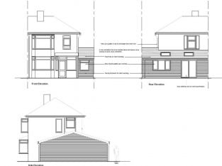 Architectural design services – House Extension Designs for Planning and Building Regs
