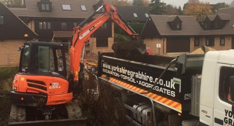 Groundwork's, Foundations, Mini Digger and Driver