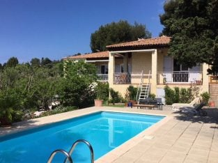 La Ciotat south of France Villa with pool and sea view