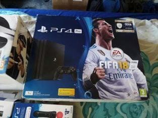 Very little used PS4 pro + VR set