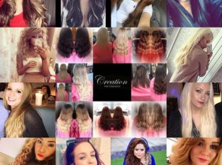 Professional Micro ring hair extensions & LA weave mobile,insured