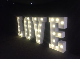 For sale Love letter lights