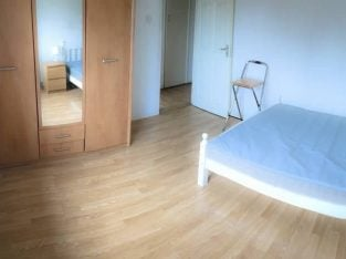 Double Bed in the Flat with Living Room & Terrace