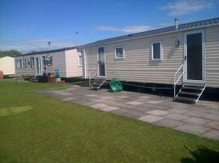 for hire 4 bed caravan