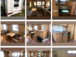 6 BERTH long or short term Touring Caravan for hire / self tow or have delivered