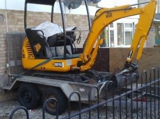 Canterbury based Mini digger hire