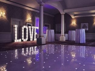 5ft light up 'LOVE' for your special day, Add the WOW FACTOR