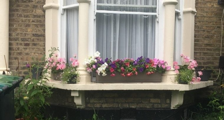 2 bed with private garden in N London for 2 bed with private garden in C/W London
