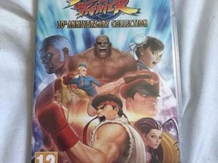 Nintendo switch game Street fighter 30th anniversary edition