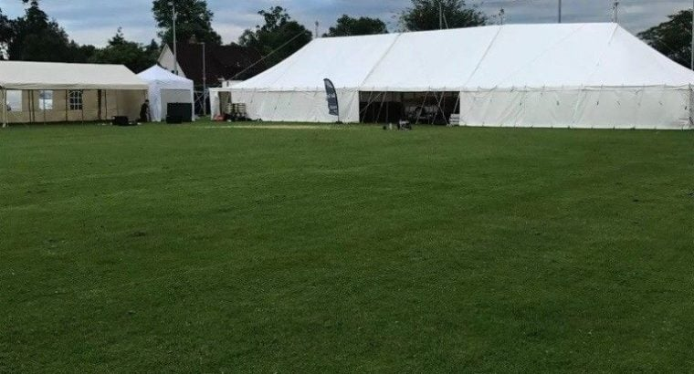 Great for any event, Traditional marquee