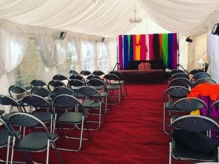 London Marquee Hire / Tent – Lighting | Heating | Flooring | Chairs & Tables