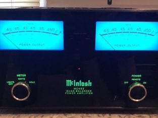 McIntosh MC452 Quad Balanced Power Amplifier – 450 Watts – EXCELLENT