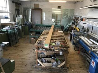 Very well established Freehold UPVC Double Glazing Manufacturing Fitting Business For Sale