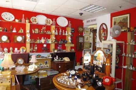 For Sale An Appealing Southwell Antique Shop