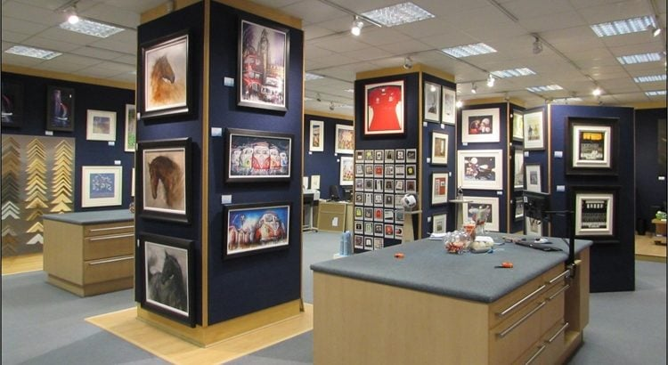 For Sale Successful & Well Established Picture Framing Gallery