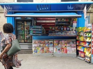Nottingham City Centre Newsagents Kiosk For Sale