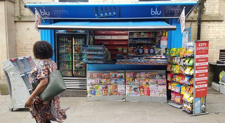 Nottingham City Centre Newsagents Kiosk For Sale