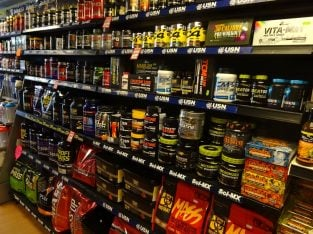 For Sale Sport Supplements And Accessories Store