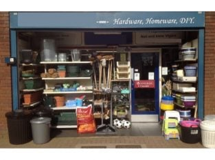 Warwickshire Well Reputed Hardware And Homeware Store For Sale
