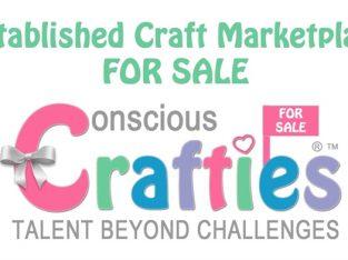Craft Marketplace Website For Talented Disabled Entrepreneurs For Sale