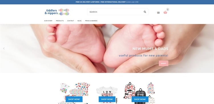 Homebased Huge Growth Potential Baby/ Childrens Branded Ecommerce Business For Sale