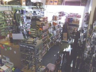 Well fitted Traditional Fishing Tackle Shop In Chesterfield For Sale