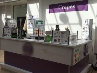 For Sale Dutch Pancakes And Crepes Mobile Stand