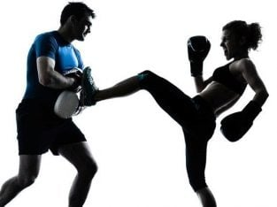 Come along and try a free, introductory class, Kickboxing group
