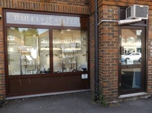 Woking, Surrey Retail Jewellers And Workshop For Sale