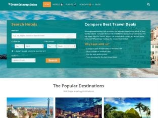 For Sale Hotels Flights Cruises Cars Travel Deals Affiliate Website
