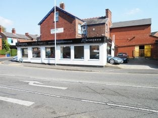 Cheshire Exceptional Car Showroom For Sale