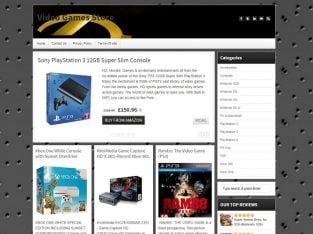 Buy a Video Games Store Website Business