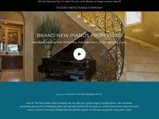 Lancashire Online Grand Piano Business For Sale