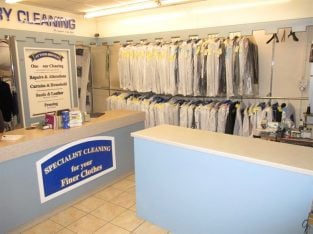 Must be sold – Modern Dry Cleaning Business For Sale