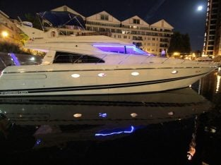 London Luxury Sunseeker Yacht Charter Business For Sale
