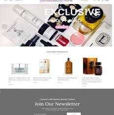 Buy a Start Up Beauty And Makeup Affiliate E-commerce Website