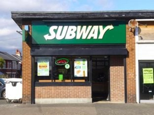 Seaside Low Rent Subway Restaurant Franchise In Fulwell For Sale