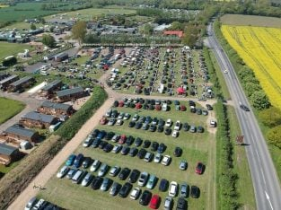 Suffolk Stonham Barns Sunday Car Boot & The American Car Show
